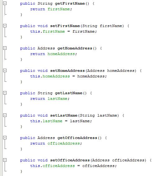 Kode yang dihasilkan