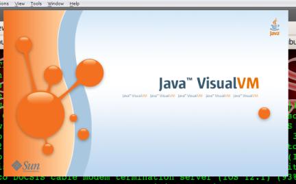 VisualVM splash screen